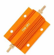 <b>3pcs RX24 25W</b> 100R 100RJ Metal Aluminum Case High Power ...