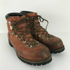 details about vtg red wing irish setter brown leather mountaineer hiking boots mens 14 825