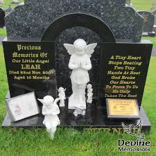 Baby Headstone Designs Contemporary Devine Memorials Quality Headstones Grave