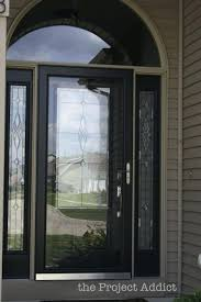 large image for trendy colors black glass front door 6 black front door with oval glass