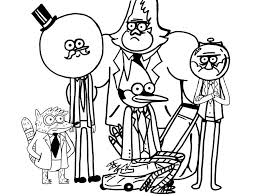 Cartoon Network Coloring Pages Cartoon Network Regular Show Coloring