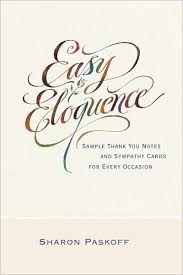 Thank You Sympathy Cards Easy Eloquence Sample Thank You Notes And Sympathy Cards For Every Occasion Nook Book