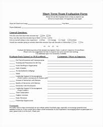 50 Best Of Photograph Team Evaluation Form Example | Form Inspiration