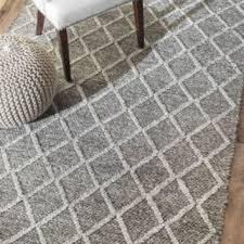 rugs usa trinket diamond trellis flatwoven grey rug