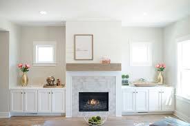 shiplap fireplace design