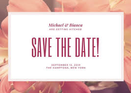 Save The Date Flyers Customize 134 Save The Date Invitation