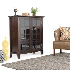 Homestyle Furniture Kitchener Simpli Home Acadian Accent Storage Cabinet Reviews Wayfairca