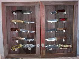 diy display case 102 best knife display images on