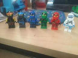 Season 11 suits look better without the armor... : Ninjago