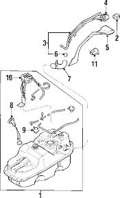 parts com® mitsubishi montero sport fuel system components oem parts 2003 mitsubishi montero sport limited v6 3 5 liter gas fuel system components