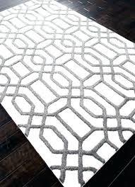 grey geometric rug runner and white awesome photo 5 of 8 rugs intertwined black uk bla geometric design rug