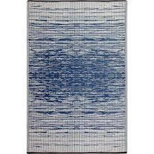 brooklyn blue indoor outdoor 4 ft x 6 ft area rug