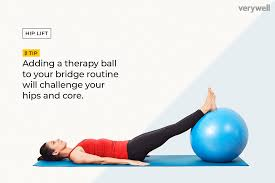 Image result for therapy ball exercises