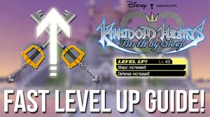 Kingdom Hearts Birth By Sleep Fast Level Up Guide Kingdom Hearts Hd 2 5 Remix