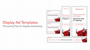 Display Ad Templates For Photoshop Creatives For Display