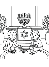 happy hanukkah coloring pages printable worksheet for s images hap