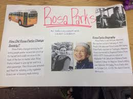 rosa parks my story lauren grade  include a biography of the historical black figure you and your partner s chose post the essay the images and the classwork poster on weebly in the space