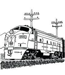 train coloring pages train coloring pages train color page railroad streamlined sel engine train on railroad