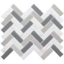 black and white tile floor. Elida Ceramica Island Reef Linear Mosaic Stone And Glass Wall Tile (Common: 12- Black White Floor