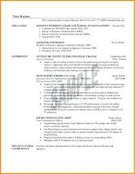 Mba Resume Examples Sample Objectives In Resume For It Pretty