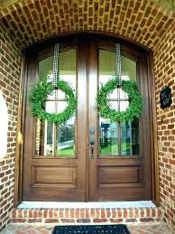 door wreath hanger over the door wreath hanger post double magnetic pane wreaths charming ideas