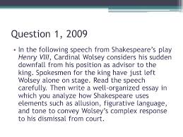 the ap english literature essays ppt video online 3 question