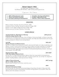 Examples Of Nursing Student Resumes Nursing Student With Clinical ...