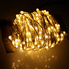 Warm White Led String Lights White Wire Us 23 03 28 Off 40m 400 Led Outdoor Christmas Fairy Lights Warm White Silver Wire Led String Lights Starry Light Power Adapter Uk Us Eu Au Plug In