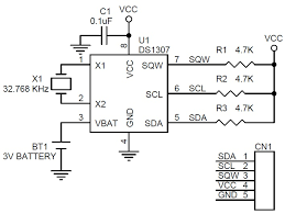 circuit ideas i projects i schematics i robotics page 16 of 40 rtc module using smd components ds1307 3
