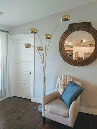 Spider Floor Lamp Arm Lamp Midcentury Lamp Gold Lamp Art Deco Lamp Adjustable Lamp Corner Lamp Long Arm Lamp Mcm Light Office Lamp
