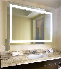 Bathroom mirrors with lights behind Behind Bathroom Mirror Light ...