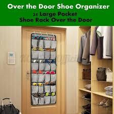 24 pockets hanging shoe organiser rack