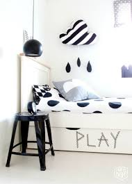 Monochrome Bedroom Design How To Rock A Monochrome Kids Room