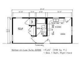 Modular Inlaw Apartment Building Modular  General Housing Mother In Law Suite Addition Floor Plans
