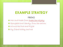 definition essay you can use these strategies of definition to example strategy friend max and freak from freak the mighty