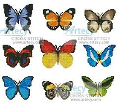 Butterfly Patterns Delectable Butterfly Sampler Cross Stitch Pattern Samplers