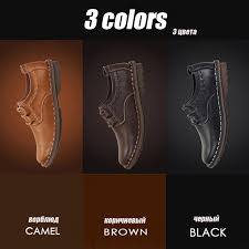<b>ZFTL New Men</b> casual shoes Genuine Leather male leisure lace-up ...