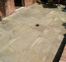 reclaimed indian sandstone paving for
