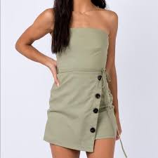 Princess Polly Dresses | Green Mini Dress | Poshmark