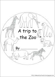 Zoo Animal Coloring Pages Printable Zoo Coloring Pages To Print Zoo