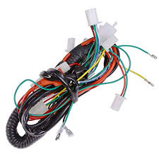 amazon com full electric wire wiring harness for 50cc 70cc 90cc amazon com full electric wire wiring harness for 50cc 70cc 90cc 110cc 125cc chinese atv utv quad 4 wheeler go kart taotao lifan automotive