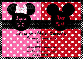 mickey and minnie invitation templates mickey and minnie mouse party invitations bridg me