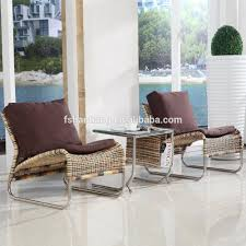 Wicker Living Room Sets Elegant Light Weight Hotel Spa Indoor Rattan Wicker Living Room