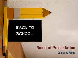 Ppt Background School Back To School Powerpoint Templates Back To School