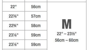 Bern Helmet Size Chart Facebook Lay Chart