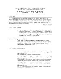 Example Of Artist Resume Makeup Artist Resume Template Hair
