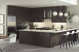 modern kitchens. In Modern Kitchen Always Is About Sharing A Tendency Toward The Horizontal: Long, Wide Lines, Stacks Of Drawer Cabinets Lined Row, Hardware Set Long Kitchens 0
