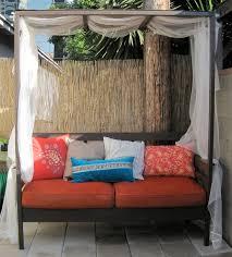 Outdoor Bedroom Bedroom Furniture Stunning Red Outdoor Bed Designs With Canopy
