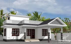 2 bhk single floor home design at 734 sq ft jpg