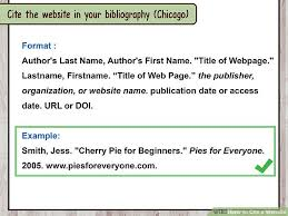 How To Cite A Quote From A Website Gorgeous How To Cite A Website With Sample Citations WikiHow
